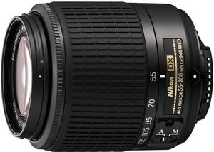 фото Объектив для фотоаппарата Nikon 55-200mm f/4-5.6G AF-S DX ED Zoom-Nikkor