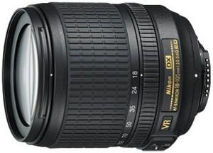 фото Объектив для фотоаппарата Nikon 18-105mm f/3.5-5.6G AF-S ED DX VR Nikkor (оригинальная упаковка)