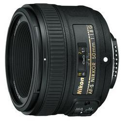 фото Объектив для фотоаппарата Nikon 50mm F/1.8G AF-S Nikkor