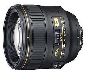 Фото объектива Nikon 85mm F/1.4G AF-S Nikkor