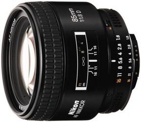 фото Объектив для фотоаппарата Nikon 85mm F/1.8D AF Nikkor