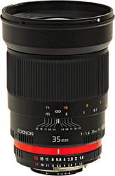 фото Объектив для фотоаппарата ROKINON MF 35mm f/1.4 Aspherical ED AE для Canon EF