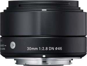Фото объектива Sigma AF 30mm F/2.8 DN A Sony E
