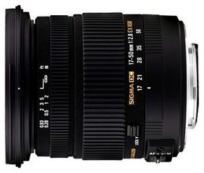 фото Объектив для фотоаппарата Sigma AF 17-50mm F/2.8 EX DC HSM Sony