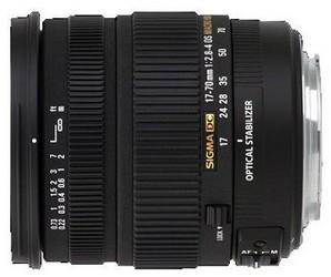 фото Объектив для фотоаппарата Sigma AF 17-70mm F/2.8-4 DC MACRO OS HSM Canon EF-S