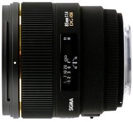 фото Sigma AF 85mm F/1.4 EX DG HSM Sigma SA