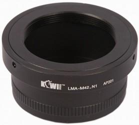 фото Переходное кольцо KIWIFOTOS LMA-M42-N1 для M42 под Nikon 1