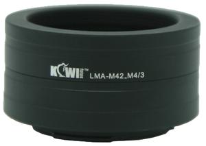 фото Переходное кольцо KIWIFOTOS LMA-M42 для M42 под Micro 4/3