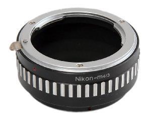 фото Переходное кольцо Flama FL-M43-NG для Nikon AI (except G series) под Micro 4/3