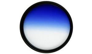 фото Градиентный фильтр Fujimi GC-BLUE 58mm
