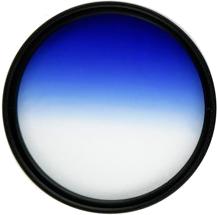 фото Градиентный фильтр Fujimi GC-BLUE 55mm
