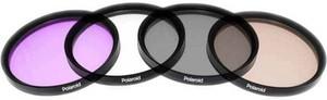 фото Набор фильтров Polaroid UV+CPL+FLD+WARMING 58mm