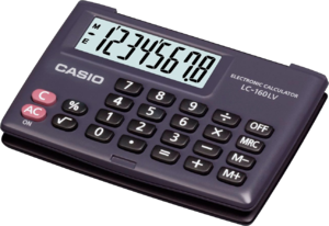 фото Casio LC-160LV