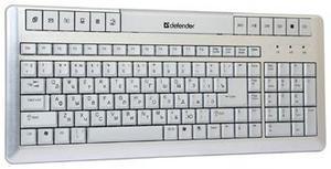 фото Клавиатура Defender Inox 900 Aluminium