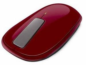 Фото оптической компьютерной мышки Microsoft Explorer Touch Mouse