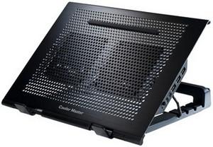"""фото Охлаждающая подставка для ноутбука 17"""" Cooler Master NotePal U Stand"""
