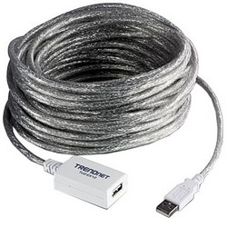 фото Кабель USB 2.0 с усилителем TRENDnet TU2-EX12 12 м