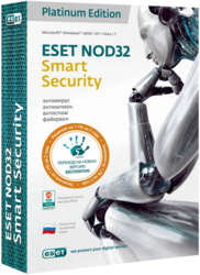 ESET NOD32 Smart Security Platinum Edition SotMarket.ru 2480.000