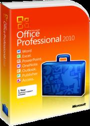 фото Microsoft Office 2010 Professional 32/64 Russian BOX
