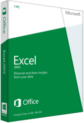 Microsoft Office 2013 Excel 32/64 Russian BOX SotMarket.ru 6490.000