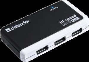 фото USB хаб Defender Quadro Infix