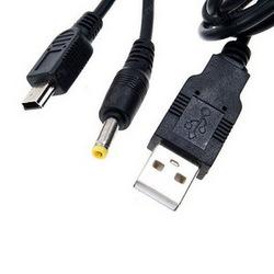 Кабель USB 2 в 1 (питание+данные) для Sony PSP SotMarket.ru 510.000