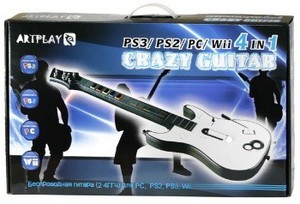 Гитара для Sony PlayStation 3 Slim Artplays Crazy Guitar SotMarket.ru 2090.000