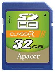 фото Карта памяти Карта памяти Apacer SD SDHC 32GB Class 4