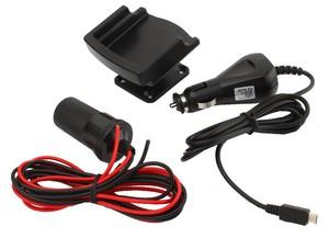 Фото автомобильного держателя для HTC Desire S Fix2Car 61107 с зарядкой