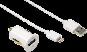 фото Автомобильное зарядное устройство для Apple iPad 4 HAMA H-119422