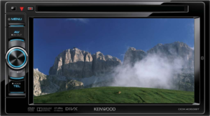 фото Автомагнитола Kenwood DDX4053BT