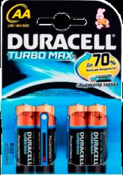 фото Батарейки Duracell LR6-4BL Turbo