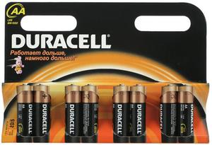 фото Батарейки Duracell LR6-8BL