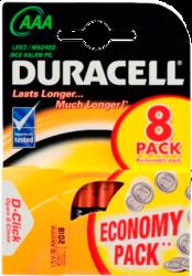 фото Батарейки Duracell LR03-8BL Basic