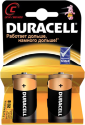 фото Батарейки Duracell LR14-2BL