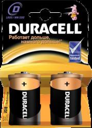 фото Батарейки Duracell LR20-2BL
