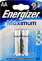 фото Батарейки Energizer Maximum LR6-2BL
