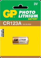 фото Батарейки GP CR123A-BC1