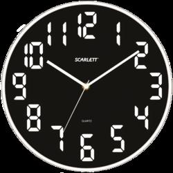 фото Настенные часы Scarlett SC-55WT