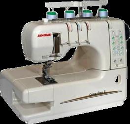Фото швейной машинки Janome CoverPro II