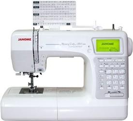 Фото электронной швейной машинки Janome Memory Craft 5200