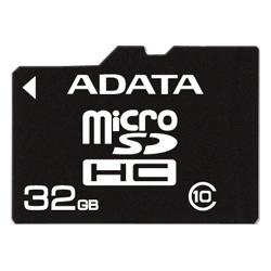 фото Карта памяти Карта памяти ADATA MicroSDHC 32GB Class 10