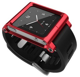 фото Браслет для Apple iPod nano 6G LunaTik Red