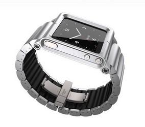 фото Браслет для Apple iPod nano 6G LunaTik Lynk Aluminum