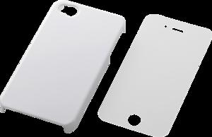 Накладка на заднюю часть для Apple iPhone 4S Elecom 12579