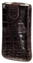 фото Чехол с вытяжной лентой для Apple iPhone 3GS HAMA Lacquer and Leather крокодиловая кожа