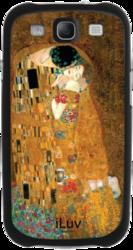 фото Накладка на заднюю часть для Samsung Galaxy S3 i9300 iLuv Klimt Kiss