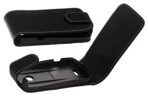фото Чехол для Samsung S5620 Monte Clever Case Premium кожаный