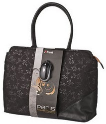 """фото Сумка Trust Paris Notebook Bag & Mouse Bundle для ноутбука 15-16"""""""