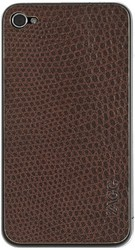 Наклейка для Apple iPhone 4 ZAGG LEATHERSkin Lizard